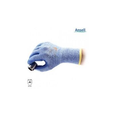 Manusa tricotata nylon, cu aplicatii din spuma nitrilica pe palma HYFLEX LIGHT