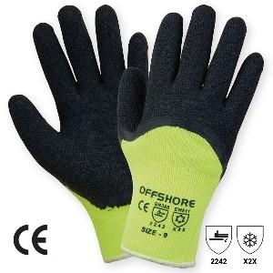 Manusa tricotata acril, cu aplicatii din latex pe palma, protectie la temp. scazute WINTERgriP