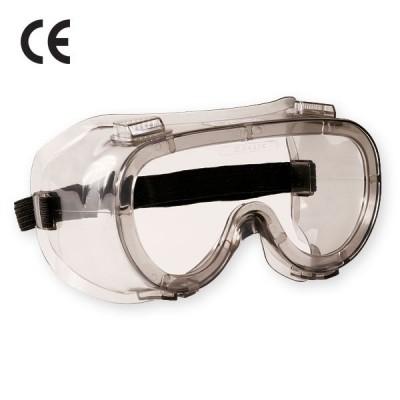 Ochelari de protectie cu aerisire indirecta, tratati antiaburire CLEAR