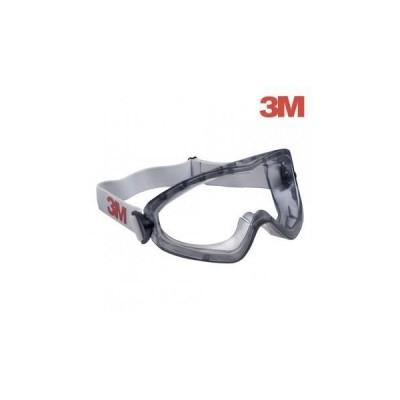 Ochelari de protectie tip goggle, cu aerisire indirecta, lentila din policarbonat 3M PREMIUM