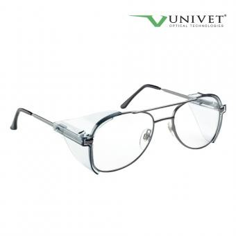 Ochelari de protectie cu lentile de prescriptie, cu rama metalica  model 536-08