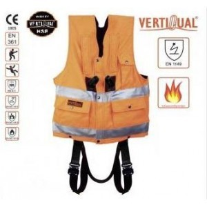 552-2 Vesta INTELIVEST AS-FR, antistatic, ignifuga, culoare portocaliu HIVIZ, fara centura,mar. S