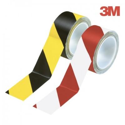 Banda adeziva pentru marcare 3M, alb/rosu