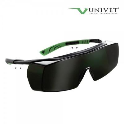 Ochelari de protectie lentila policarbonat verde