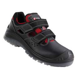 Sandale de protectie ESD cu bombeu non-metalic si lamela , PORTORICO S1P