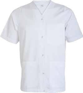 Costum alb din tercot, ind. alimentara TINA