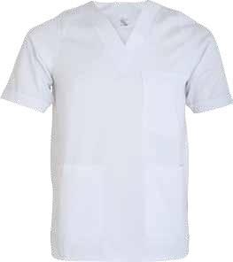 Costum alb din tercot, medic MEDA