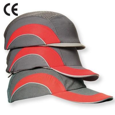 Sapca de protectie cu cozoroc mediu HARDCAP  - GR/R; B/B.