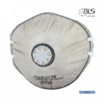 Semimasca cu supapa de expiratie, cu strat de carbune activ FFP2 BLS