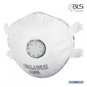 Semimasca cu supapa si elastic ajustabil FFP2  BLS