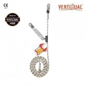 217 Opritor de cadere pe suport flexibil, cu absorbitor de energie Vertiline EDGE 10