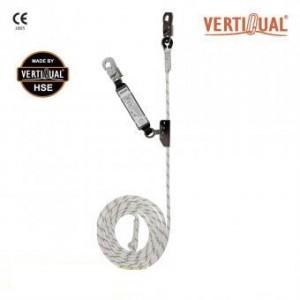 218 Opritor de cadere pe suport flexibil, cu absorbitor de energie  Vertiline Classic 05