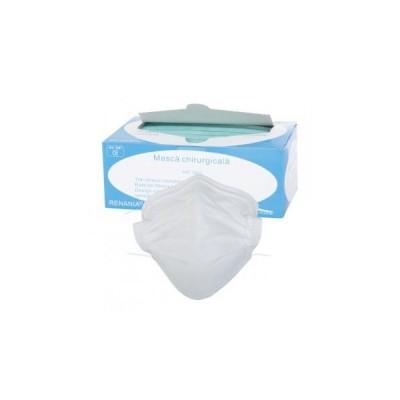 Masca chirurgicala 3 straturi  (A, V) / set 50 buc