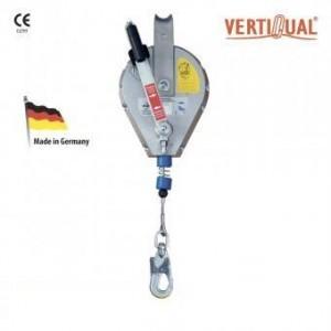 Opritor de cadere cu cablu retractabil cu functie de ridicare IKAR