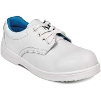 Pantofi de protectie albi RAVEN WHITE LOW S2
