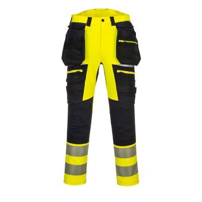 DX4 Hi -Vis Pantaloni cu buzunare detasabile DX442