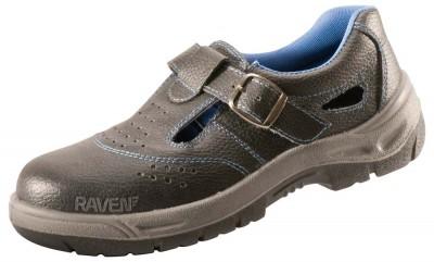 Sandale RAVEN 01 DIN PIELE FARA BOMBEU CU TALPA PU