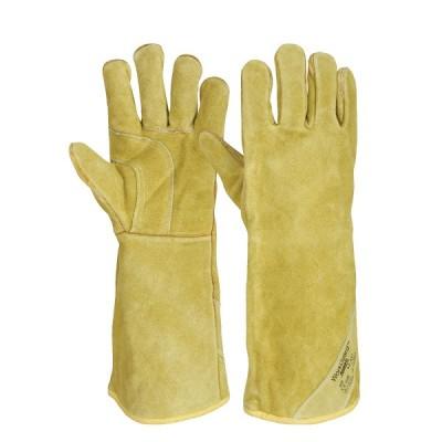 Manusa de protectie din piele pentru sudori WORKGUARD