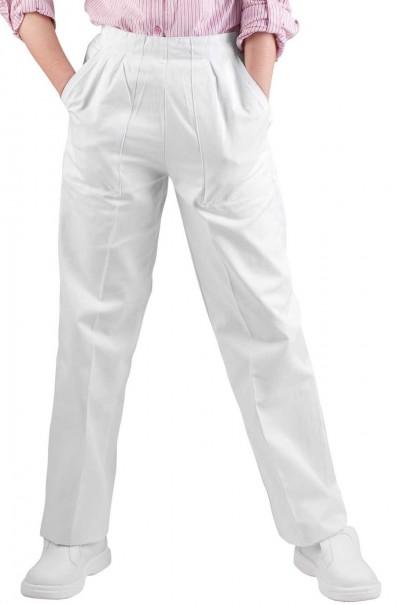 Pantaloni albi de lucru APUS LADY