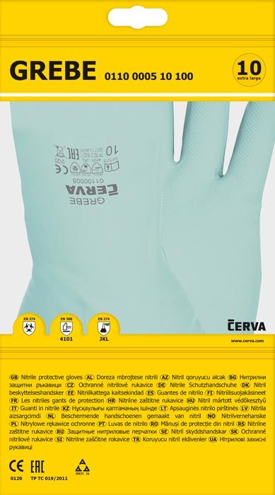 Manusi NITRIL  GREBE protectie chimica