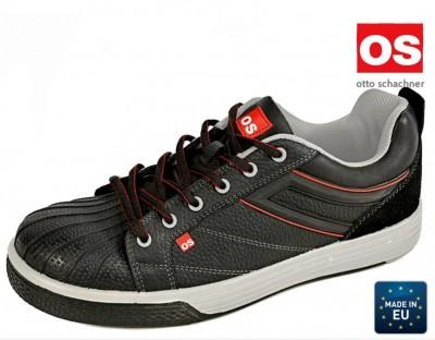 Pantofi protectie HENNE LOW S3 SRC din piele cu bombeu compozit lamela antiperforare