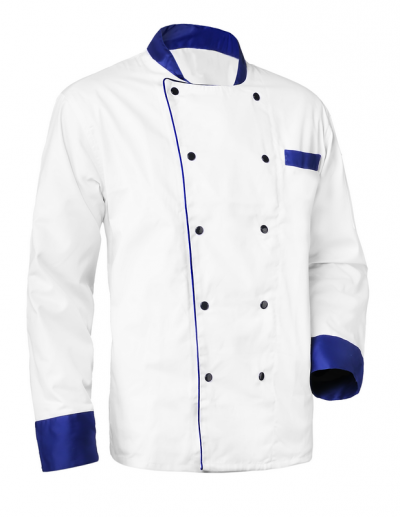 RONDON BLUE LONG Bluza bucatari cu maneca lunga